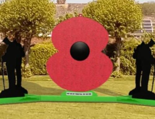 The Poppy of Honour will be visiting Collett Park!