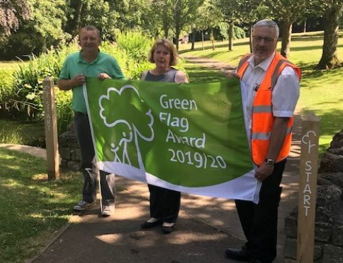 Collett Park wins Green Flag award, second year running